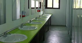 Instalaciones limpias y prácticas