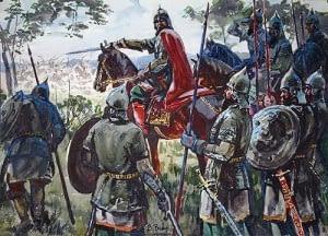 Chiste en inglés sobre reyes y sus ejércitos