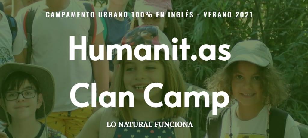 Clan Camp Casa de Campo 2021 – Campamento Urbano Natural – Inglés 100%