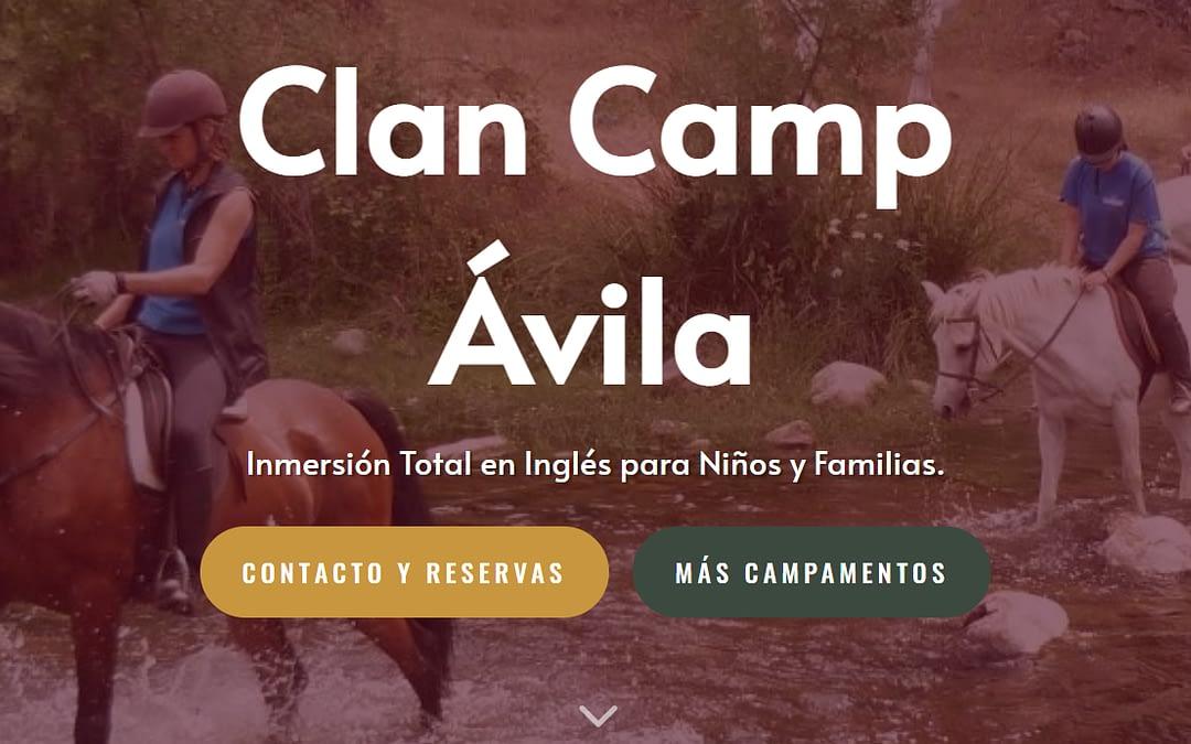 Clan Camp Ávila 2021 – Campamento para Niños y Familias – Inglés 100%